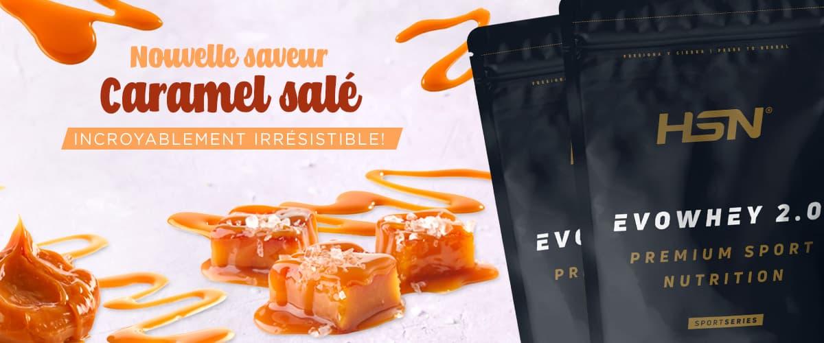 Nouveauté Evowhey Caramel Salé