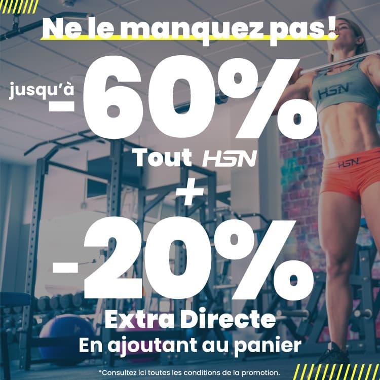 Offerte 60% HSN + 20% Extra