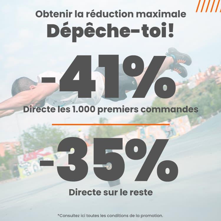 Promo 41% 1000 premières commandes