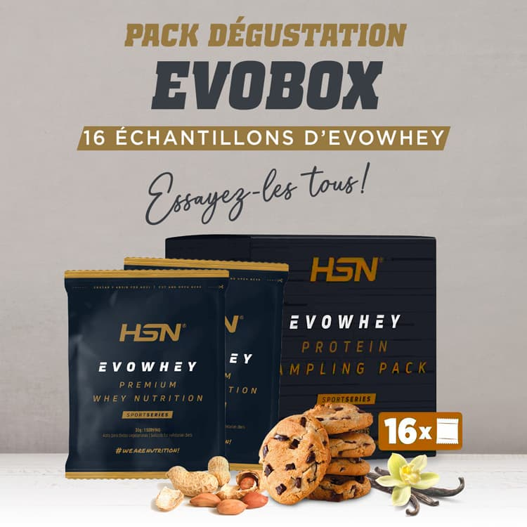 Evobox Échantillon Evowhey Protein 2.0  Pack Dégustation