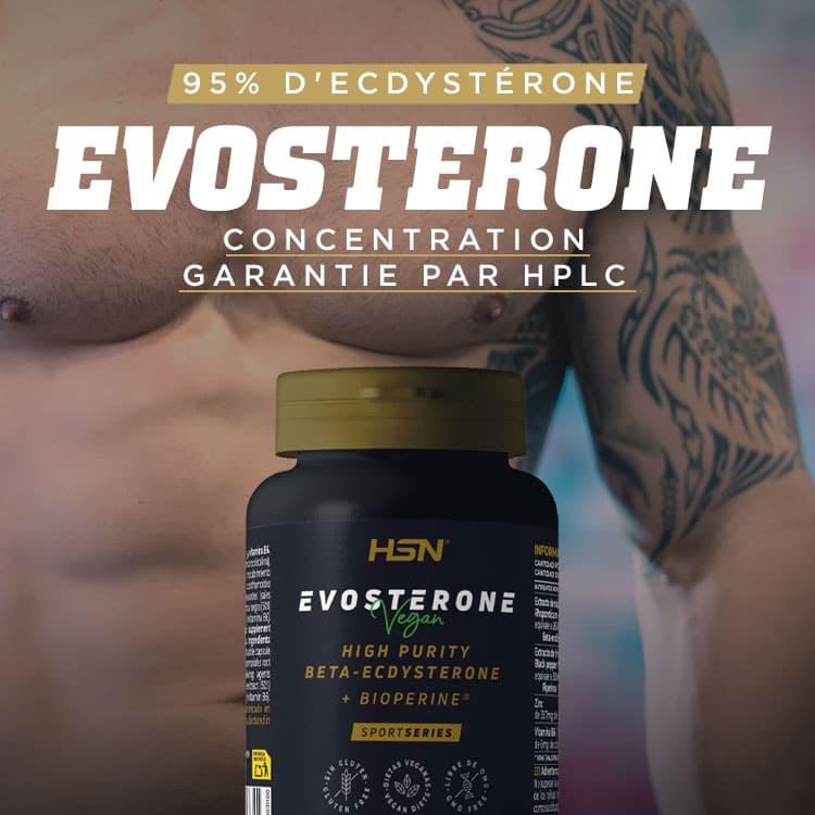 Nouveauté Evosterone 95% Ecdysterone de SportSeries