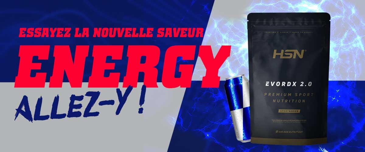 Nouvelle Saveur Energy Evodrx HSNsports