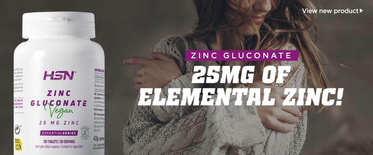New Vegan Zinc Gluconate