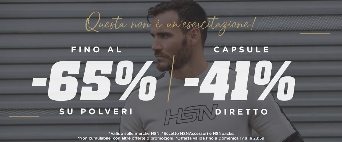Offerta Fino al 65% HSN