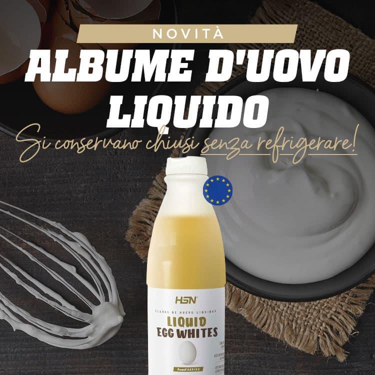 Novità 100% Albume d'uovo liquido