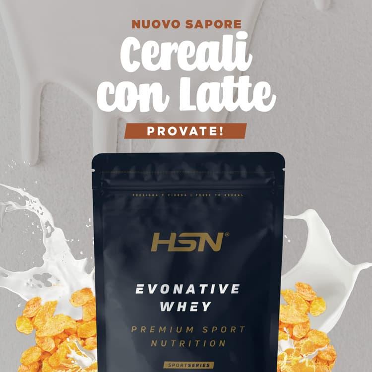 Novità Evonative Cereali con Latte