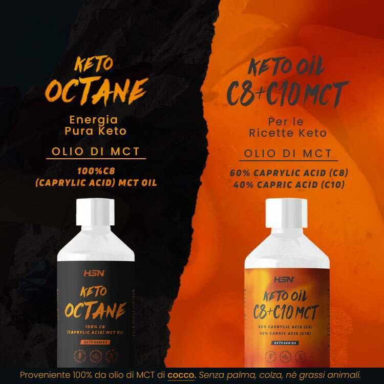 Novità Keto Octane & Keto Oil C8 + C10 MCT