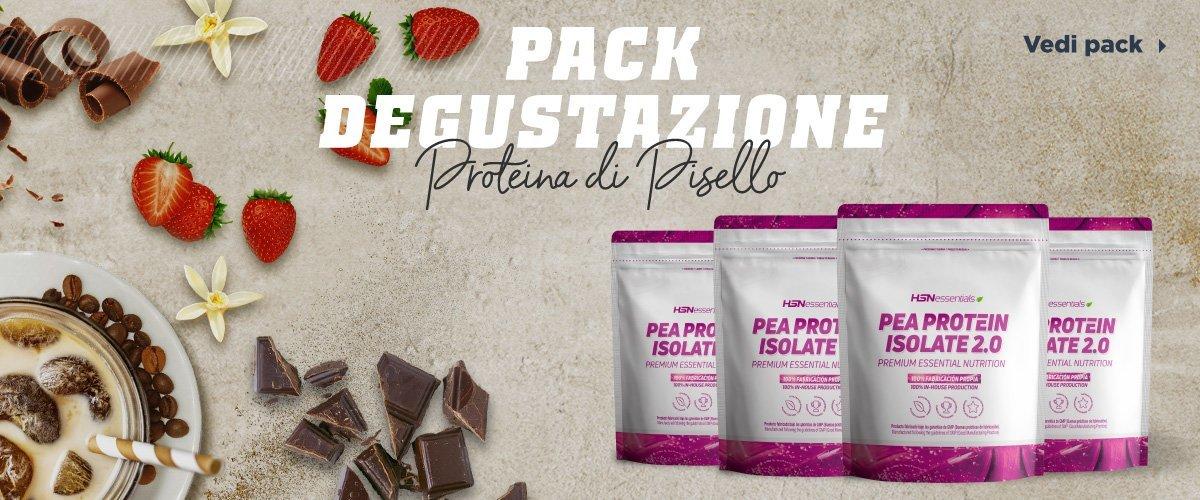 Packs Degustazione Proteina di Pisello