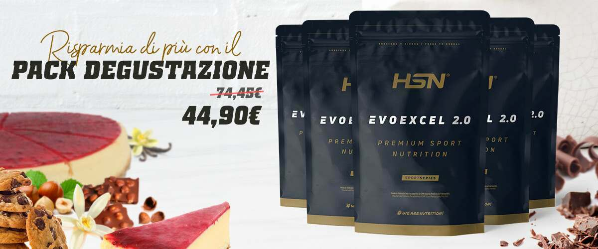 Packs Degustazione Evoexcel