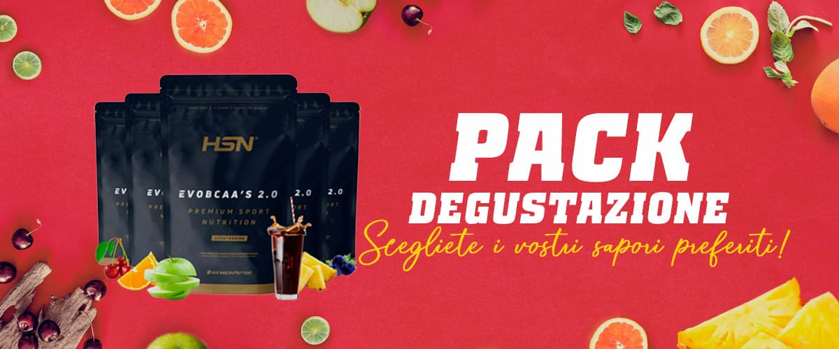 Pack Degustazione di Evobcaa's 2.0