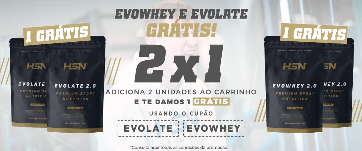Promo 2x1 Evowhey & Evolate