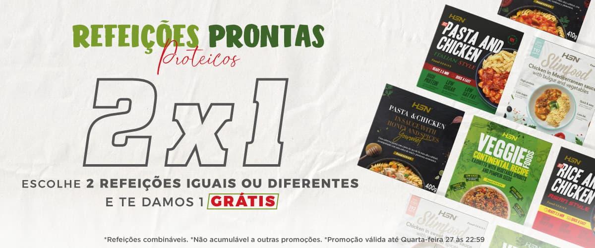 Promo 2x1 Refeições Prontas FoodSeries