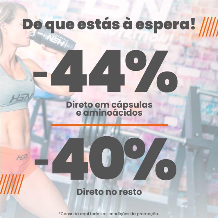 Promo 44% Capsulas e Aminoácidos HSN