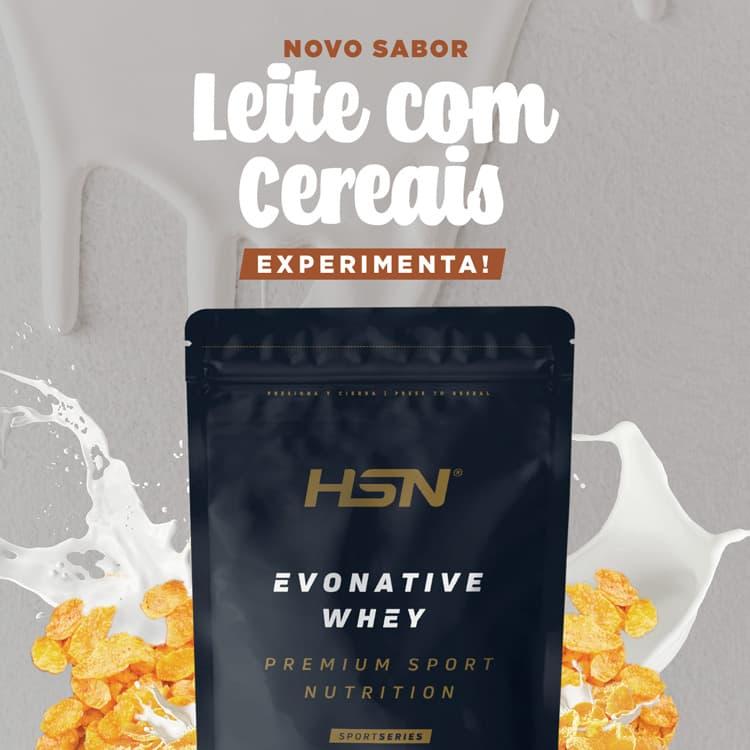 Novidade Evonative Leite com Cereais