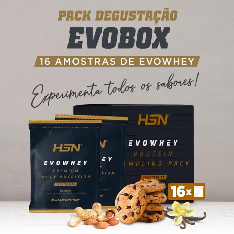 Evobox Amostras Evowhey Protein 2.0 Pack Degustação