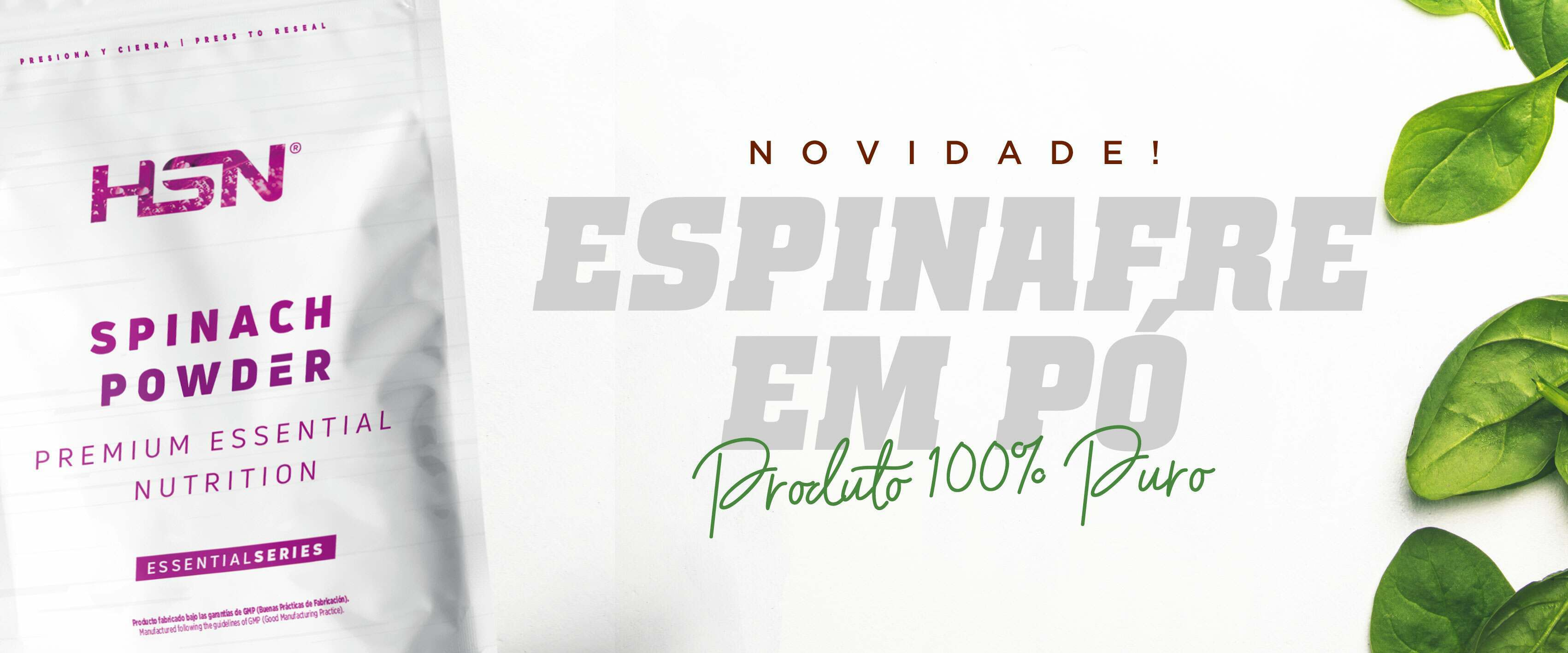 Comprar Espinafre em Pó