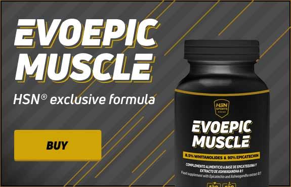 EVOEPIC MUSCLE - 120 veg caps