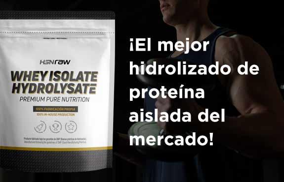 Comprar Hidrolizado de Proteína Aisalada HSNraw