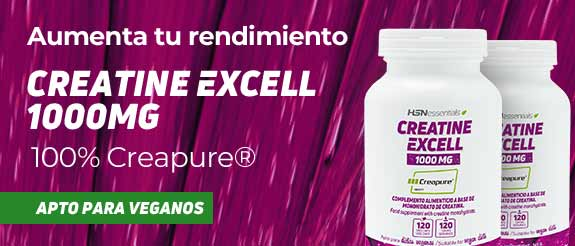 Creatina Excell 1000mg (100% Creapure) HSNessentials
