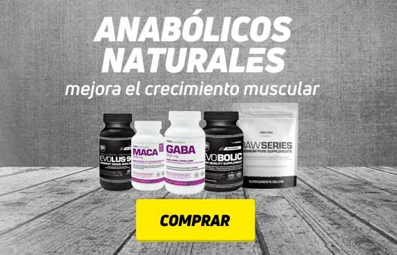Anabólicos naturales, mejora el crecimiento muscular