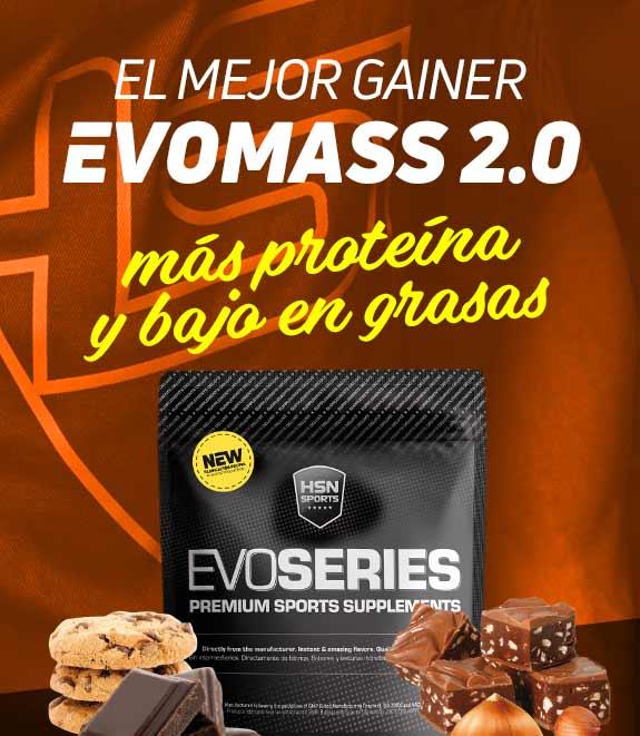 EVOMASS 2.0 (GANADOR DE PESO)