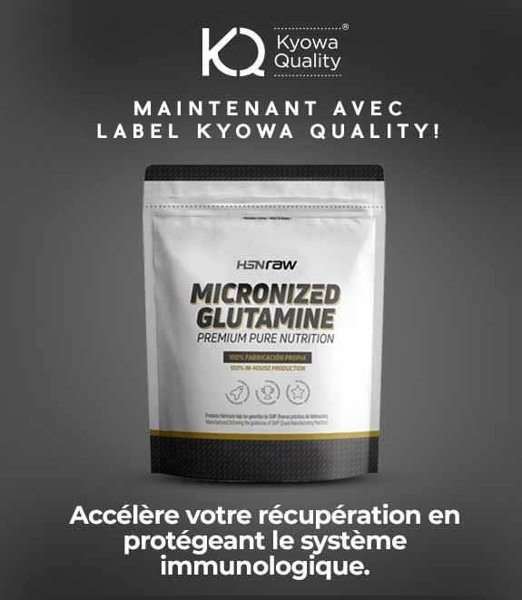 Acheter Glutamine Micronisée HSNraw
