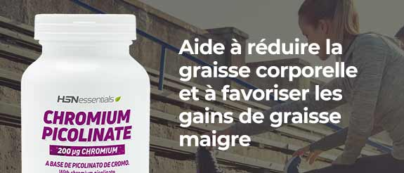 Acheter du Picolinate de Chrome HSNessentials
