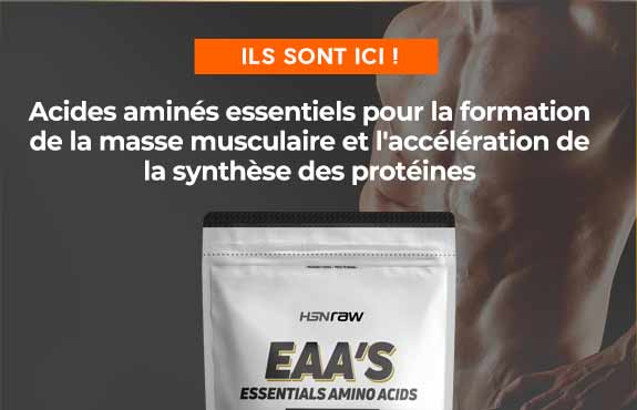 Acheter des Acides Aminés Essentiels HSNraw