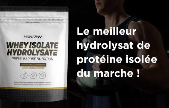 Acheter Hydrolysat de Protéine Isolée HSNraw