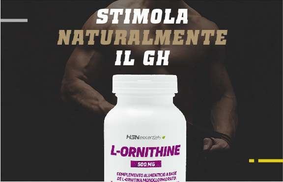 Comprare L-Ornitina HSNessentials