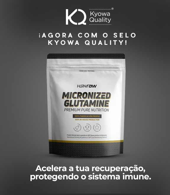Comprar Glutamina Micronizada HSNraw