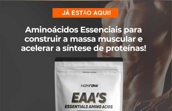 Comprar Aminoácidos Essenciais HSNraw