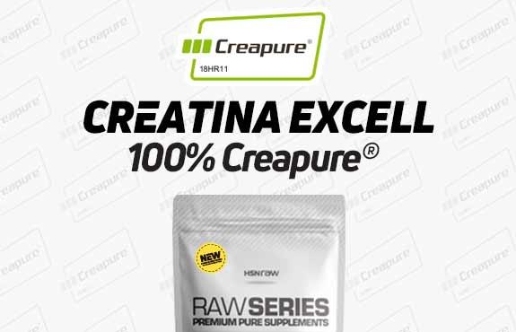 CREATINA EXCELL (100% Creapure®) EM PÓ