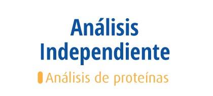 Análisis de Proteínas - Aislado de Proteína de Leche