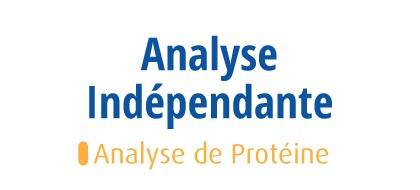 Analyse de Protéine - Evocasein 2.0 Banane