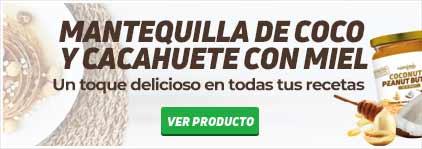 Mantequilla de Cacahuete Coco y Miel HSNfoods