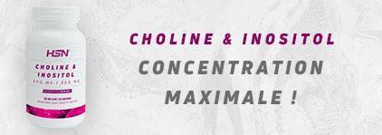 Acheter Choline et Inositol