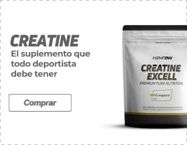 Comprar Creatina Creapure HSNraw