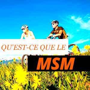 MSM pour l'inflammation