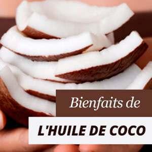 Avantages de l'huile de coco