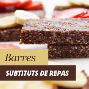 Barres substituts de repas
