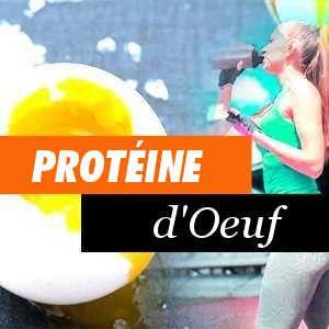 Avantages de la protéine d'oeuf