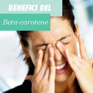 Benefici del Beta carotene
