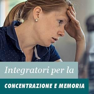 Integratori per la Concentrazione e Memoria