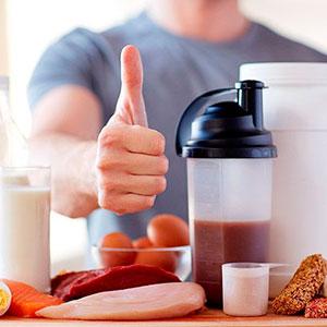 Integratori a base di proteine