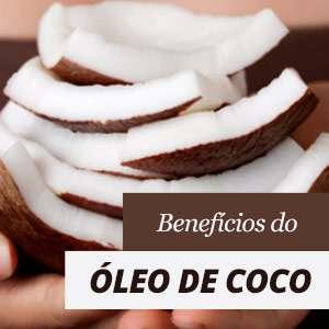 Óleo de coco Benefícios