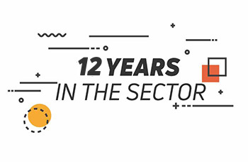 10 years in the sector
