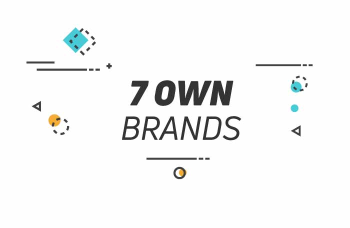 7 own brands