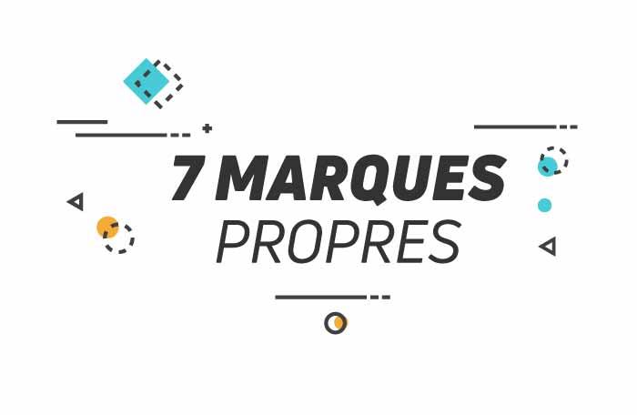 7 marques propres