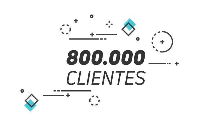 +800.000 clientes